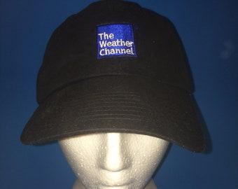 Vintage The weather channel Strapback hat adjustable