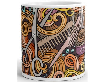 Hairstylist Mug, Hairstylist Coffee Mug, Hairstylist Cup, Hairstylist Gift, Hair Stylist Mug, Hair Stylist Coffee Mug, Hairdresser Mug