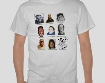Howard Stern wack pack      Tshirt shirt