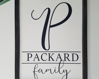 Family Name Sign, name sign, family sign, custom name sign, custom family name sign, established sign, custom name sign, wood sign