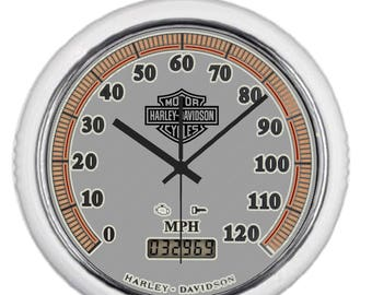 Metal Wall clock Harley Davidson speedometer perfect gift Home Decoration