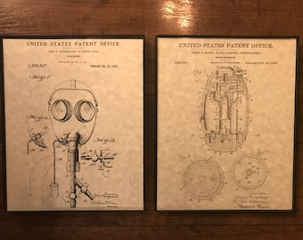 Military Patent Prints - 2 Pack Assortment