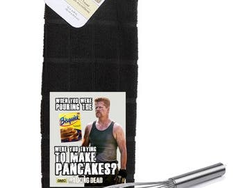 The Walking Dead Abraham Ford Bisquick  Kitchen Towel