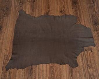 Leather lambskin Nubuck Chocolate (9361253)