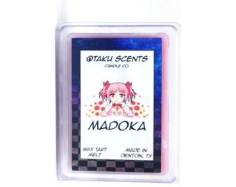 Madoka - Scented Soy Anime Wax Melt Tart - Puella Magi Madoka Magica