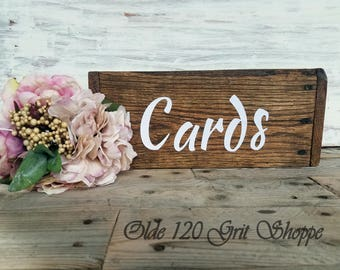 Rustic Wedding card box Holder, Wedding card sign, card box, card holder, card sign Box, Rustic wedding box wishing well