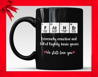 Funny Dad Coffee Mug Birthday Mug For Dad Dad Funny Mug Fathers Day Mug Dad Gifts From Son Gifts For Dad Gift For Dad Fathers Day Mugs Joke