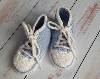 Babys bootees  Baby shoes  Crochet baby bootees
