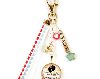Will bag charm - cabochon - you be my godmother?