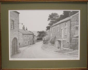 Stuart Walton. Signed. Limited Edition Print. Middlesmoor.