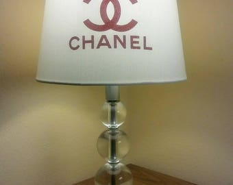 Chanel inspired lamp set