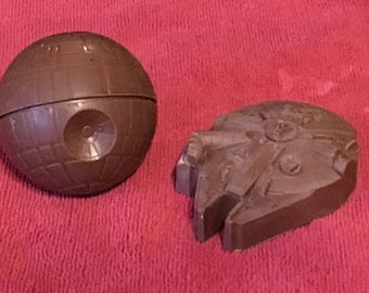 Chocolate Millennium Falcon or Death Star