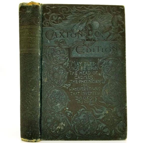 Pilgrim's Progress from this World to That Which is to Come by John Bunyan 1889 Caxton Edition Hardcover
