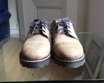 Vintage shoes Elty Brown leather size 41