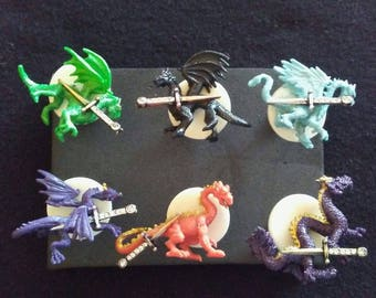 Dragon Push Pins
