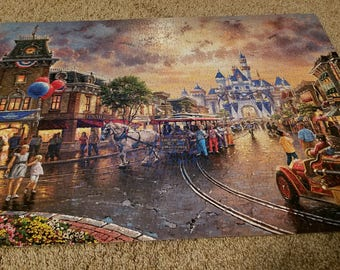 Disneyland Thomas Kinkade Puzzle
