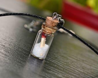 Supernatural Salt and Burn Necklace