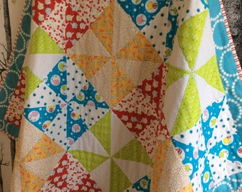 Baby Quilt Tummy Time Play Mat Childs Quilt