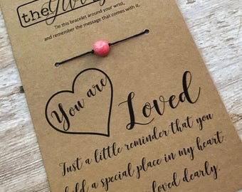 YOU ARE LOVED Bracelet - Inspirational Gift