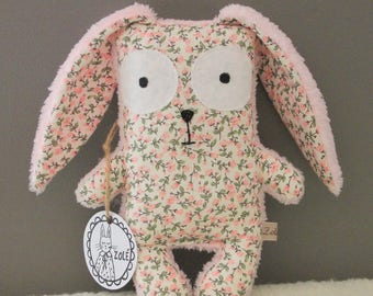 Teddy rabbit Firmin, blanket, baby, baby gift, birthday gift, Easter, nursery, toy, plush, Easter gift