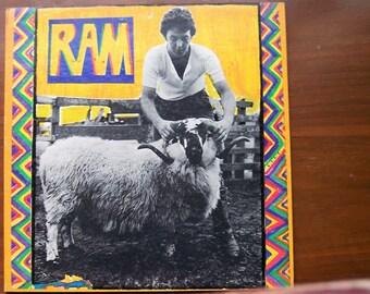 Ram by Paul and Linda McCartney Record Album