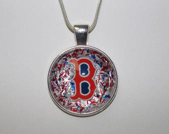 RED SOX NECKLACE!!
