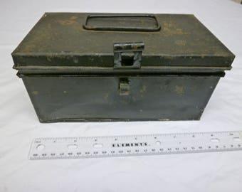 Two VINTAGE  Bank Boxes, USA