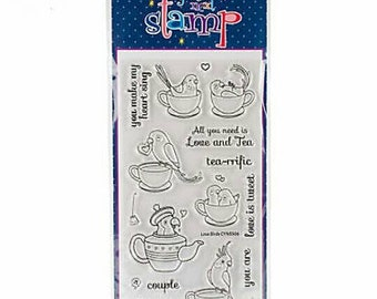 Your Next Stamp ~Love Birds~ Clear Stamp Set