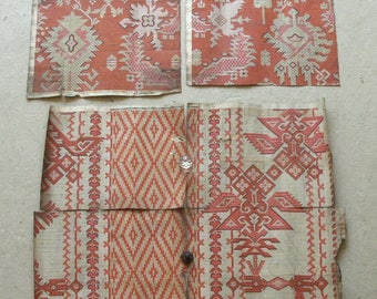 19th c. French textile designs on paper 6