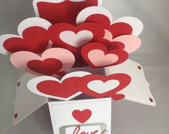 Pop up Valentines Love box - created by Designs by Xpression