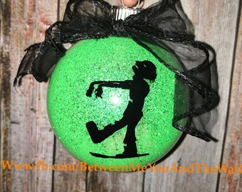 Glowing Zombie Ornament