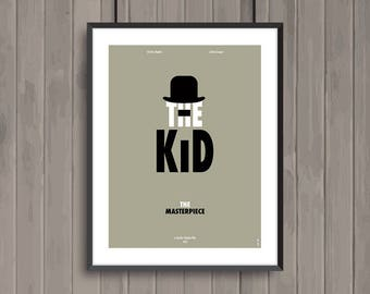 THE KID, minimalist movie poster