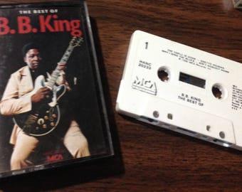 B.B. King - The Best of audio cassette tape vintage blues