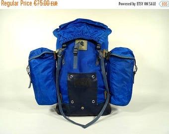 ON SALE Vintage Backpack / 70s Backpack / Vintage Rucksack / Hiking Backpack / Travel Backpack / Vintage Fashion / Vintage Hiking / Vintage