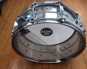 PRICE LOWERED Tama Snare Drum 10 Lug With Original Atlas Stand