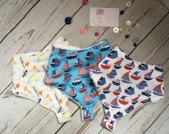 Dummy Dribble Bibs, bandana bibs, baby gifts, baby shower gift, new mum gifts, Unisex baby gift, baby bibs
