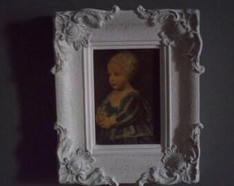 montparnasse weathered white frame