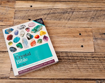 OUT OF STOCK Crystal Bible Book, Heaps for crystal info