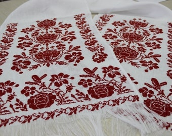 Ukrainian towell. Rushnyk Emroidered decorative towel
