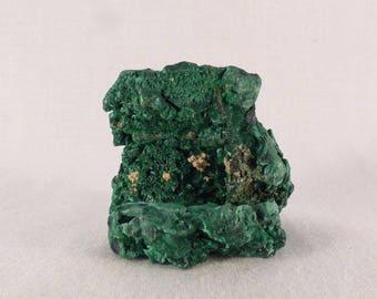 Congo Silky Malachite Natural Specimen - 40mm, 41g