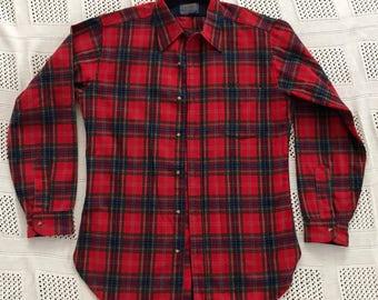 Pendleton vintage wool flannel