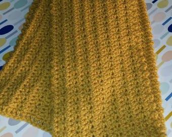 Nice warm crochet scarf