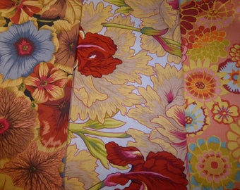 lot 3 PATCHWORK KAFFE FASSET and Philip JACOBS fabrics
