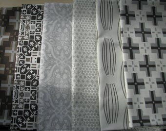 batch 6 fabric PATCHWORK CURIOUS NATURE of PARSON GRAY collection