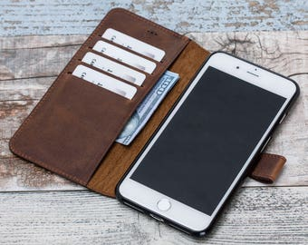 iPhone 7 Wallet Case, Leather iPhone 7 Wallet Case, iPhone 7 Plus Wallet Case, iphone 7 leather case, iPhone 7 case leather