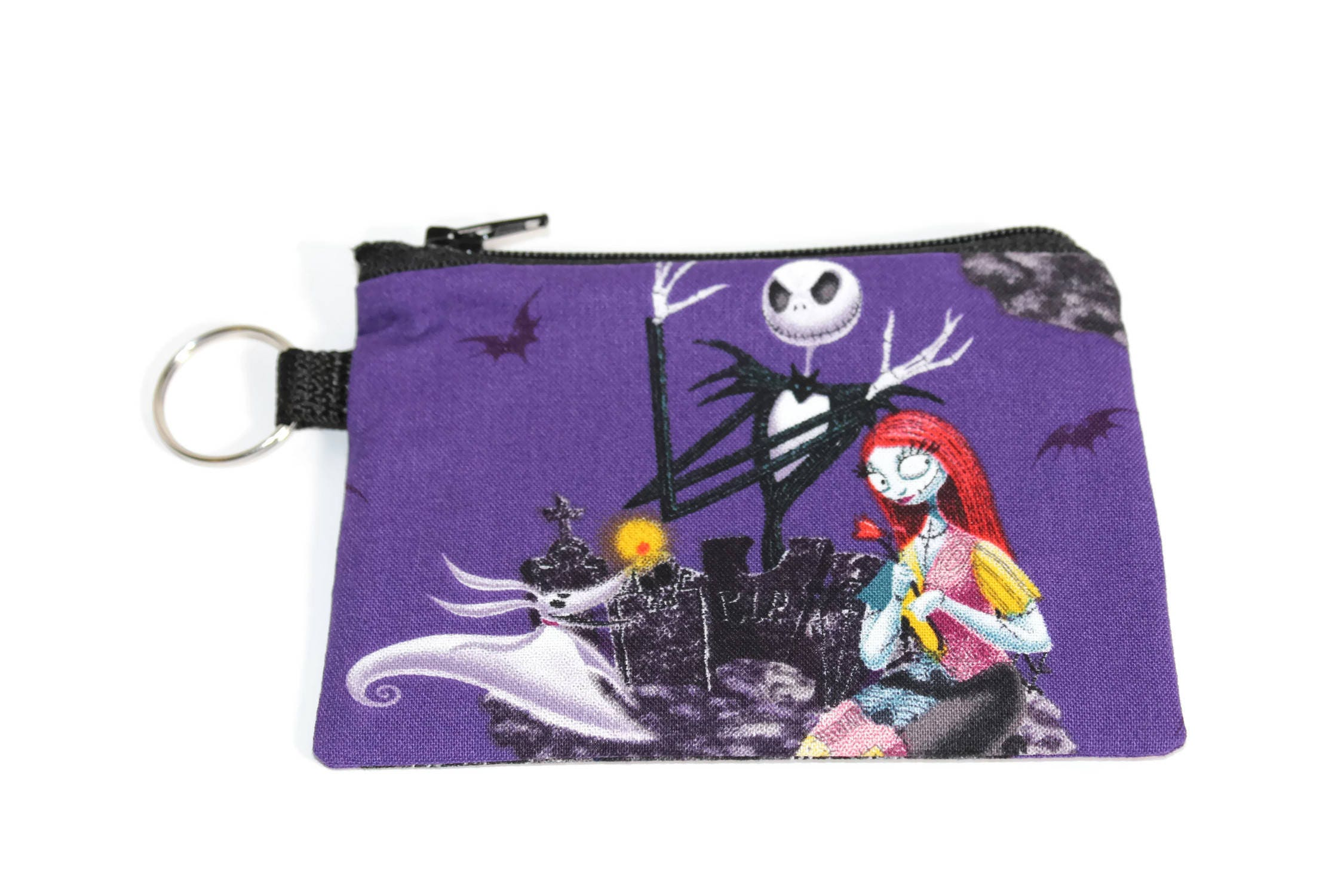 Credit Card Holder, Nightmare Before Christmas KeyChain, Card Holder ...