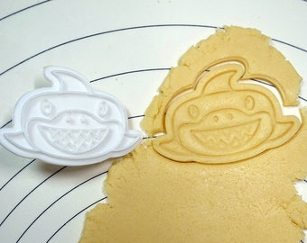 Funny Shark  Cookie Cutter and Stamper