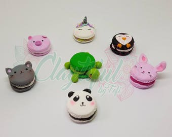 Kawaii Animals Macaroons