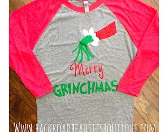 Adult Merry Grinchmas