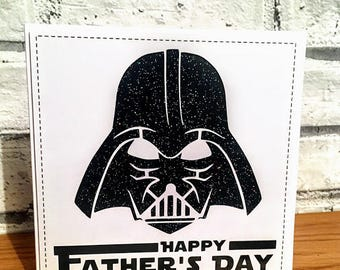 Darth Vader - Happy Father's Day Card